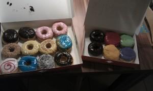 Unser Mitbringsel, Donuts von Dunkin Donuts