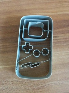 Ausstechform Gameboy